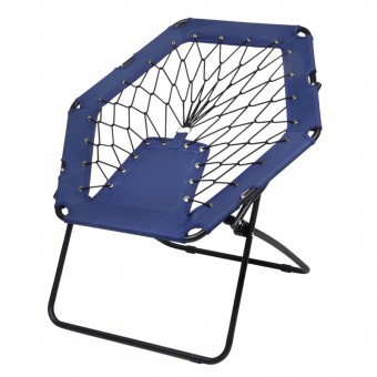 Scaun pliabil Chill Out bungee blue