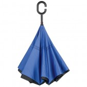 Umbrela Flipped Hands Free Blue
