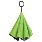 Umbrela Flipped Hands Free Green